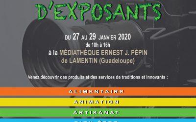 La Mission Cinéma Caraïbe dévoile son affiche du village des exposants prévu au Lamentin
