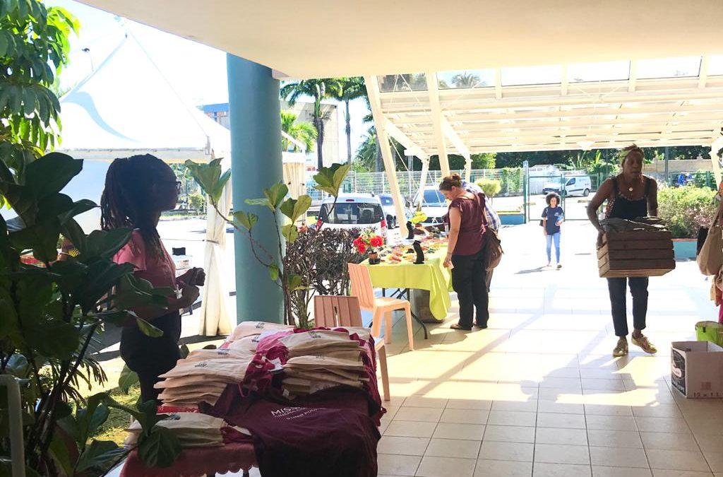 A la découverte du village d'exposants proposé par la Mission Cinéma Caraïbe