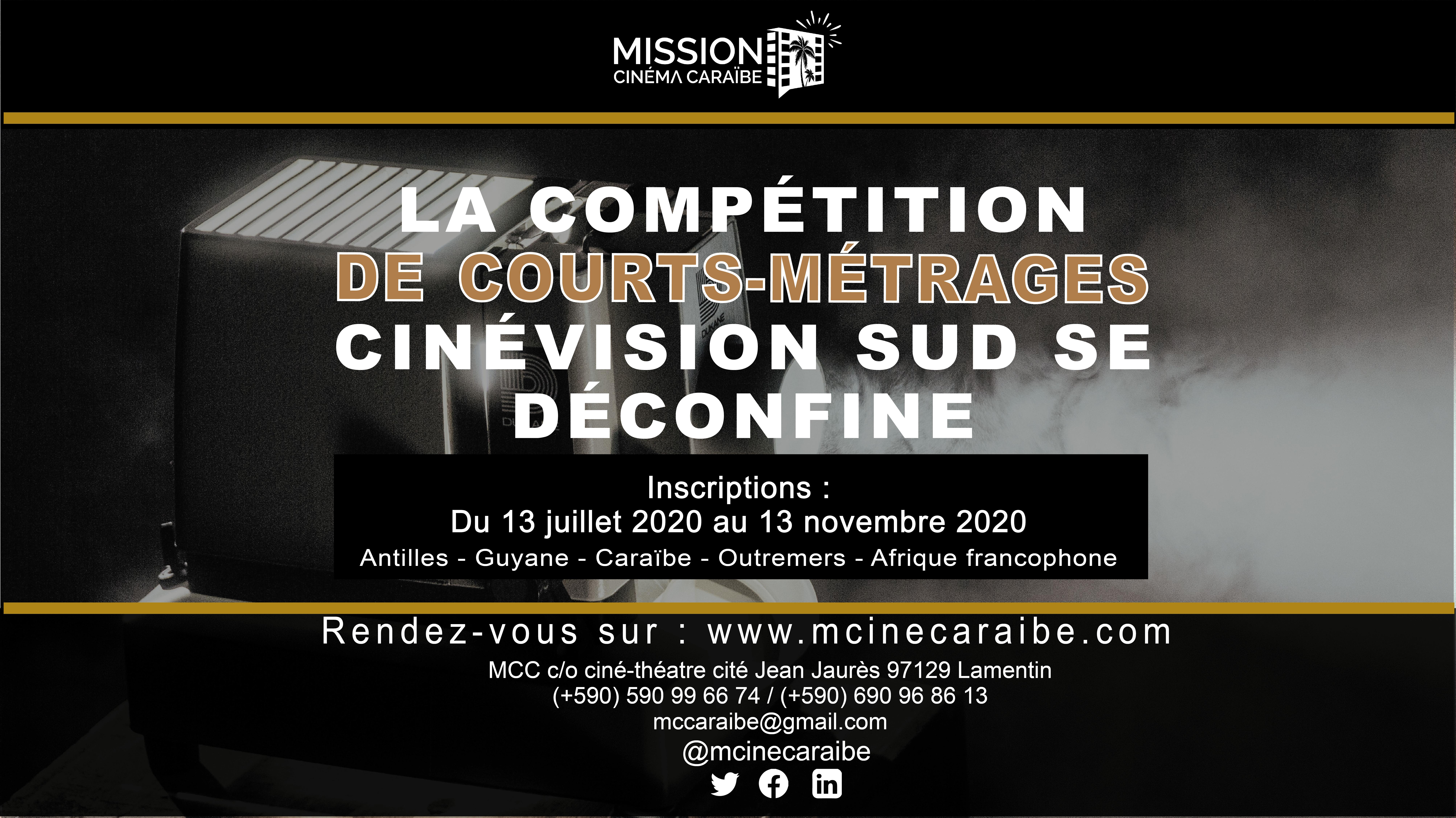 La Mission Cinéma Caraïbe lance son appel à films: la compétition CinéVision Sud 2020-2021 se déconfine