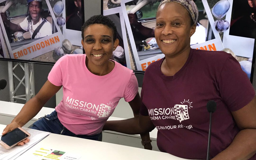 [Culture] La Mission Cinéma Caraïbe présente ses projets dans l'émission Clin D'œil Event sur Canal 10