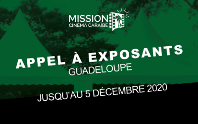 [Création] L'appel à exposants de la Mission Cinéma Caraïbe est lancé