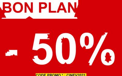 [Bon plan] Code promo sur le ticket CinéVision Sud
