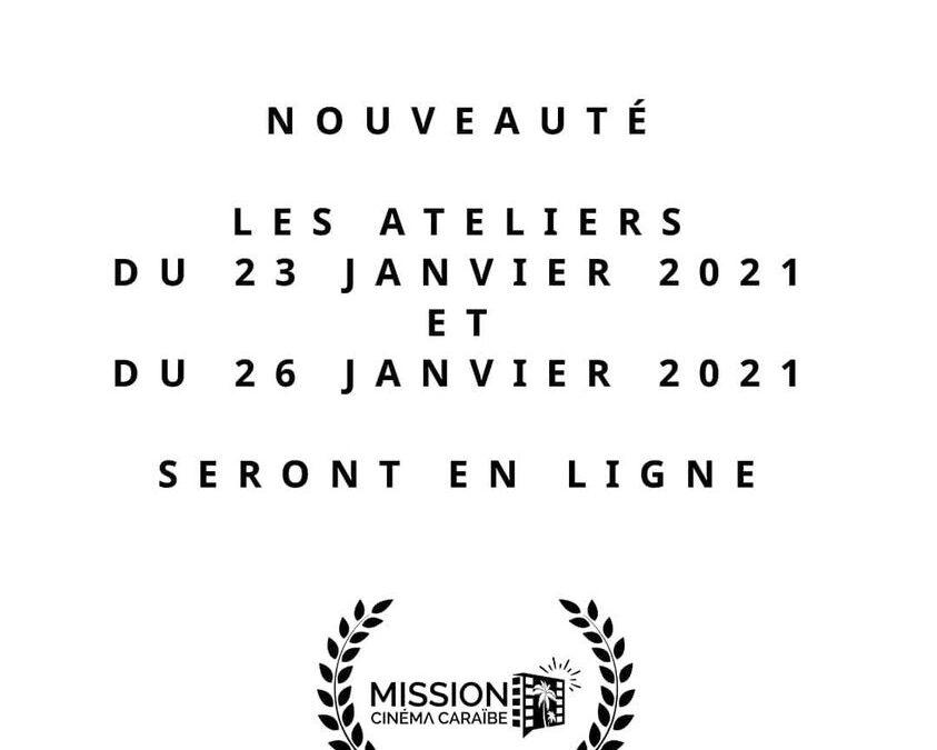 [Nouveauté] Les activités en ligne des 12èmes rencontres professionnelles du cinéma Antilles-Guyane